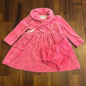 Pink Ralph Lauren Baby Dress
